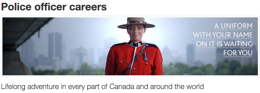 RCMP Careers