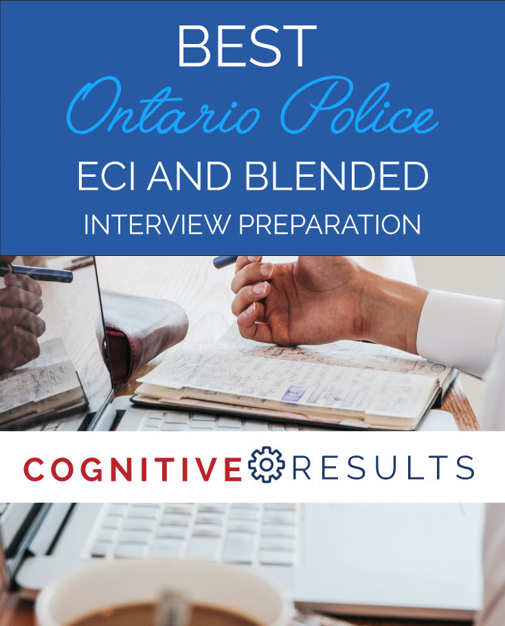 Best Ontario Police ECI and Blended Interview Preparation