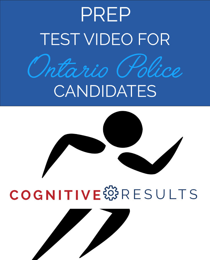 PREP Test Video for Ontario Police Candidates
