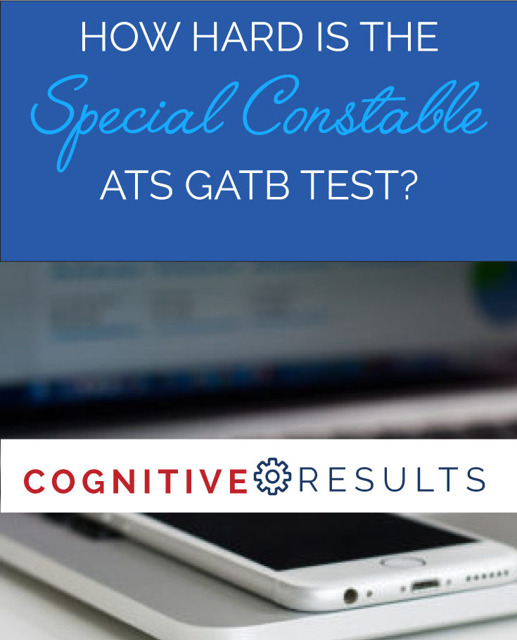 How Hard is the GATB for Special Constable?