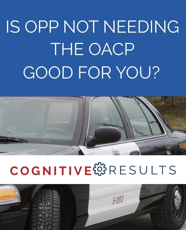 Is OPP not needing the OACP good for you?
