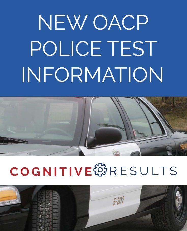 new oacp certificate police test information